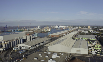 Associated british ports to build new port facilities for frontier agriculture in the port of hull photo cred associated british ports e