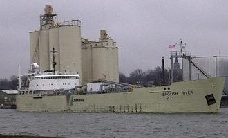 Port of oswego grain unloading photo cred port authority of oswego