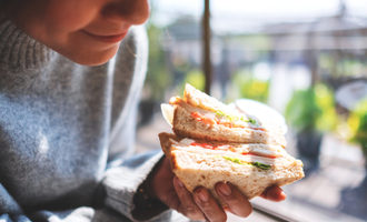Whole grain food eatingwhole wheat sandwich photo adobe stock e