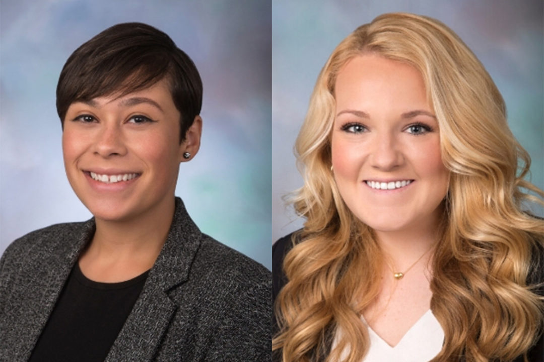 Ivy Torres and Sadie Marks, US Grains Council