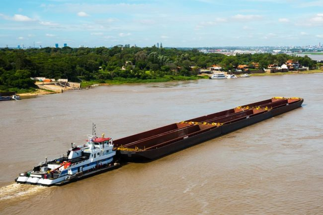 Paraguay drought affecting barge shipments