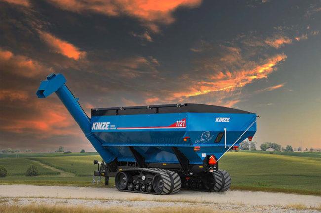 Kinze Manufacturing new grain cart designs