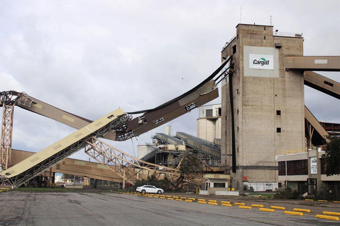 Grain ingredient suppliers assess Hurricane Ida damage