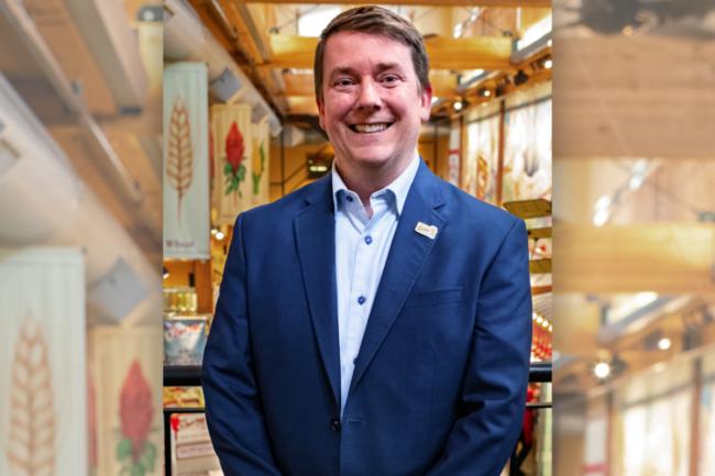 Trey Winthrop, CEO of Bob's Red Mill