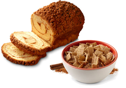 cereal and bakery bread