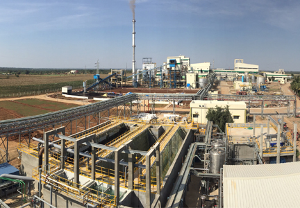 Cargill's wet corn proccessing plant in India