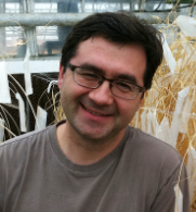 Eduard Akhunov a professor of plant pathology and wheat genomics at KSU