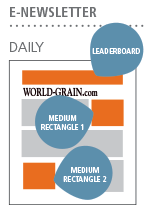 E-Newsletter: Daily; Leaderboard, Medium Rectangle 1 and Medium Rectangle 2 Ad Positions