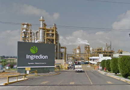 Ingredion facility in Mexico