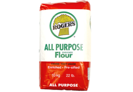Rogers Foods recalled all purpose flour