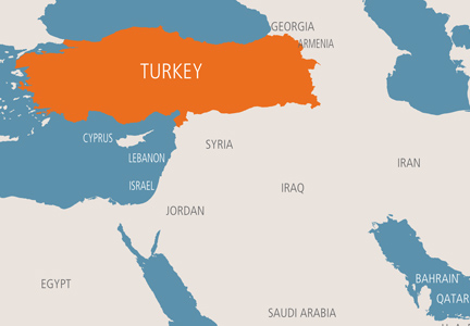Turkey Map Of World.Editorial Milling S Role Strong In Turkey World Grain Com